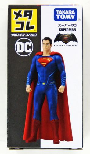 Takara Tomy DC Metakore Metal Figure Superman 4904810869764