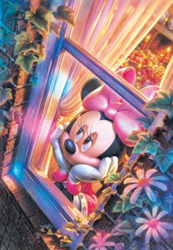 Tenyo Japan Jigsaw Puzzle D-108-996 Disney Minnie Mouse (108 Pieces)