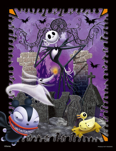 Yanoman Jigsaw Puzzle 42-46 Disney The Nightmare Before Christmas (300 Small Pieces)