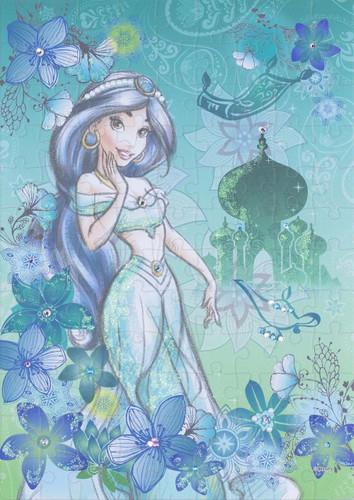 Epoch Jigsaw Puzzle Decoration 72-004 Disney Aladdin Jasmine (108 Pieces)