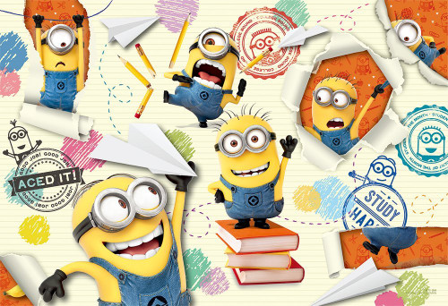 Yanoman Jigsaw Puzzle 03-862 Despicable Me Minions School (300 Pieces)