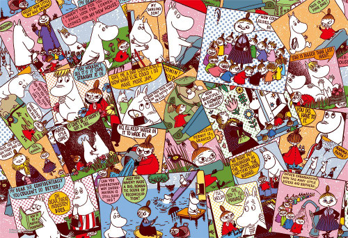 Yanoman Jigsaw Puzzle 03-863 Moomin Comics Little My (300 Pieces)