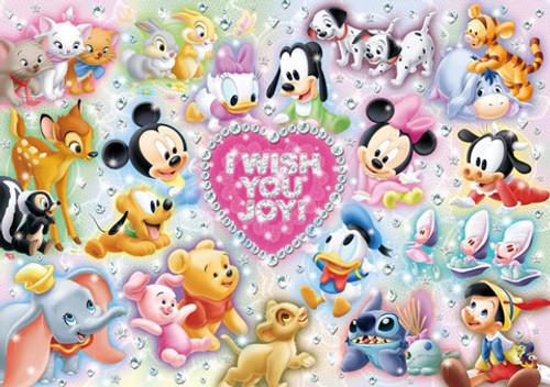 Tenyo Japan Jigsaw Puzzle D-200-894 Disney I Wish You Joy! (200 Pieces)