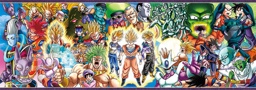 Ensky Jigsaw Puzzle 352-91 Dragon Ball Z DRAGONBALL Z CHRONICLES III (352 Pieces)