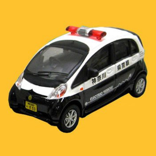 Doyusha 005309 i MieV Kanagawa Prefectural Police 1/64 Scale Diecast Model