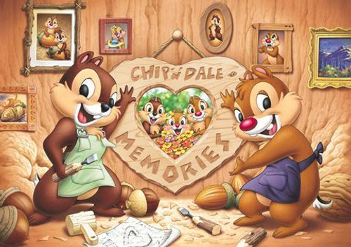 Tenyo Japan Jigsaw Puzzle D-200-997 Disney Chip 'n Dale (200 Pieces)