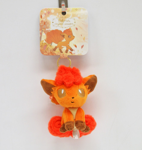 Pokemon Center Original Mascot Vulpix (Rokon) w/ Charm 1021-232591