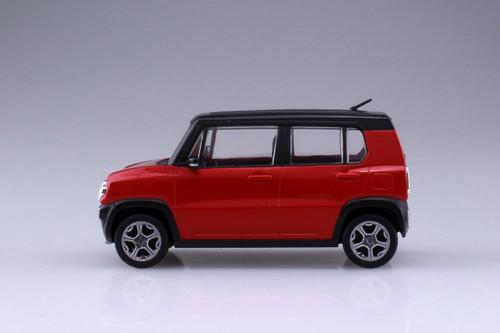 Aoshima 54147 Suzuki Hustler (Phoenix Red Pearl) 1/32 scale pre-painted model kit