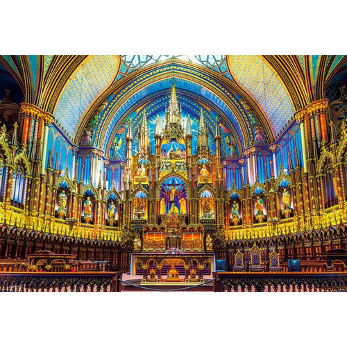 Beverly Jigsaw Puzzle M81-868 Cathedral Notre-Dame de Paris France (1000 S-Pieces)