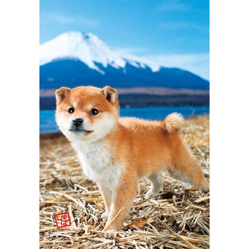 Beverly Jigsaw Puzzle L74-162 Pretty Pet Series Dog Shiba Inu (150 L-Pieces)