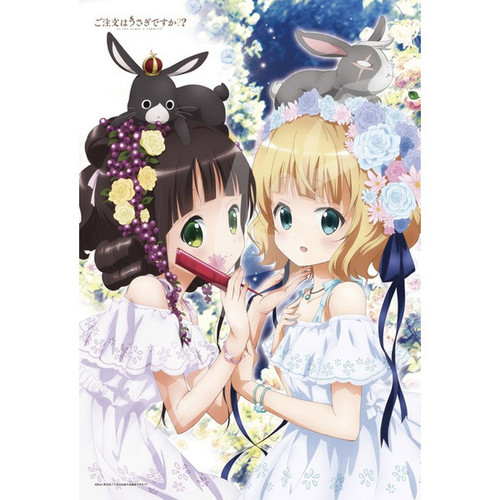 Ensky Jigsaw Puzzle 300-1190 Is the Order a Rabbit? Chiya & Syaro (300 Pieces)