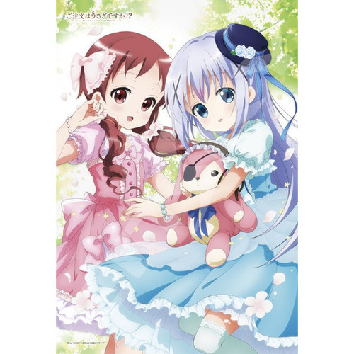Ensky Jigsaw Puzzle 300-1188 Is the Order a Rabbit? Megumi & Chino (300 Pieces)