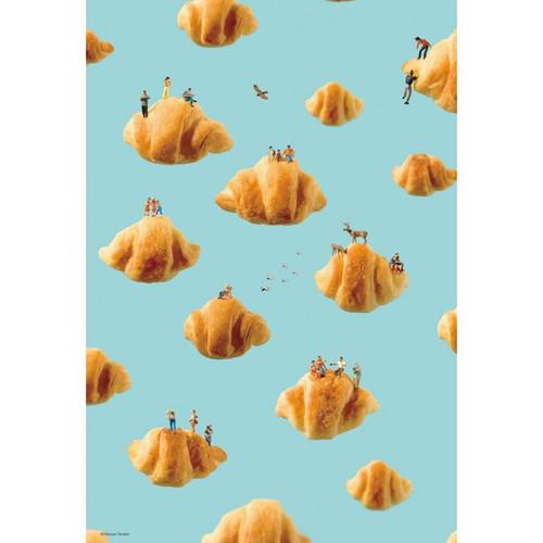 Beverly Jigsaw Puzzle 93-129 Tatsuya Tanaka Miniature Art Croissant (300 Pieces)