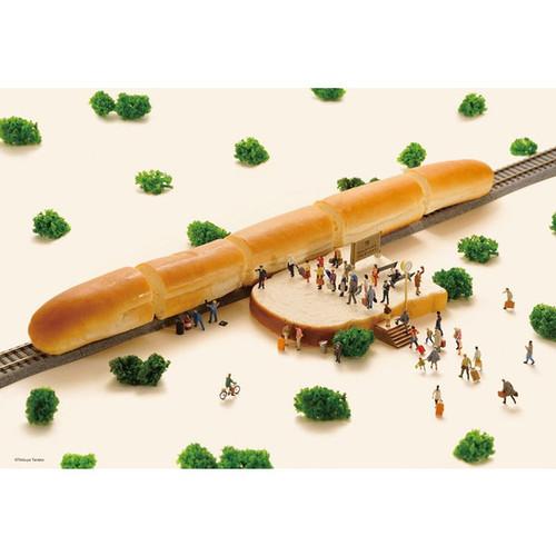 Beverly Jigsaw Puzzle 93-131 Tatsuya Tanaka Miniature Art Bread Shinkansen Bullet Train (300 Pieces)