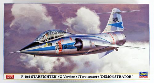 "Hasegawa 07459 F-104 Starfighter (G Version) (Two Seater) ""Demonstrator"" 1/48 scale kit"