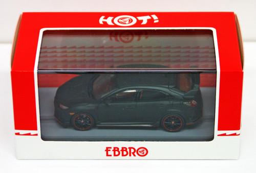 Ebbro 45571 Honda CIVIC Type R 2017 Prototype 1/43 Scale