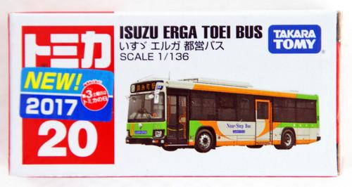 Takara Tomy Tomica 20 Isuzu Erga Toei Bus 879718