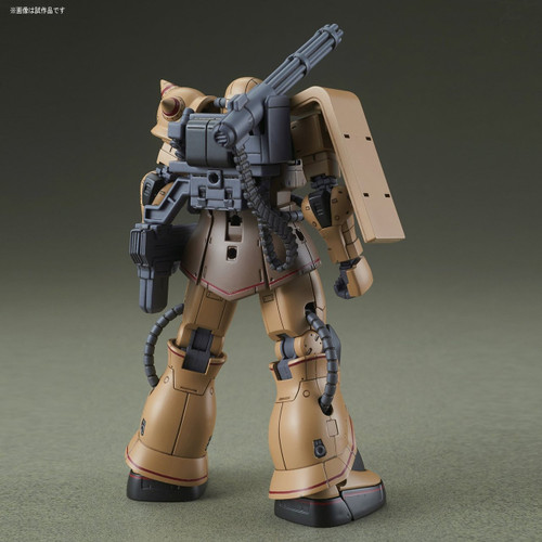 Bandai Gundam The Origin 019 MS-06CK ZAKU HALF CANNON 1/144 Scale Kit