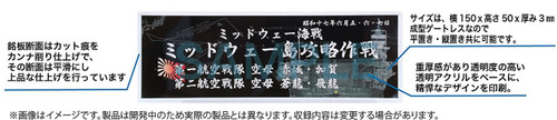 Fujimi 115832 Ship Name Plate 300 1942 August Battle of Savo Island
