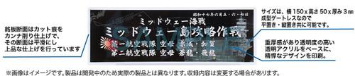 Fujimi 115832 Ship Name Plate 300 1942 August Battle of Savo Island
