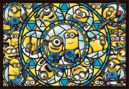 Yanoman Prism Art Jigsaw Puzzle 62-20 Despicable Me Minions (216 Pieces)