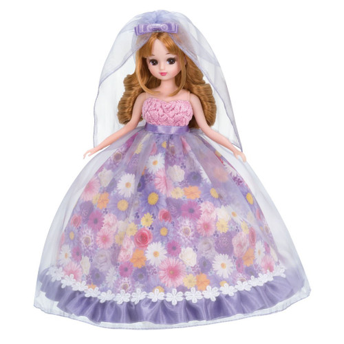 Takara Tomy Licca Dress Flower Shower Wedding (971580) <doll not included>