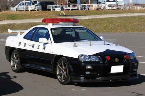 Fujimi ID-87 Nissan Skyline (R34) GT-R Police Car 1/24 scale kit