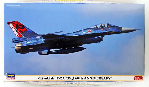 """Hasegawa 02261 Mitsubishi F-2A """"3SQ 60th Anniversary"""" 1/72 scale kit"""