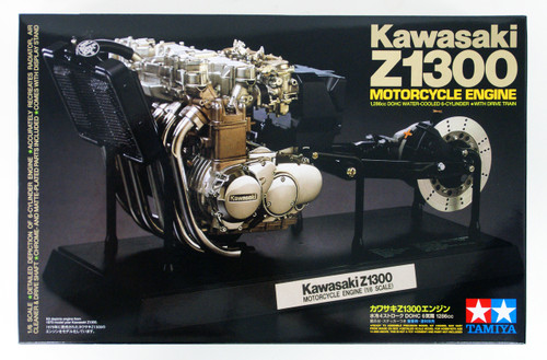 Tamiya 16023 Kawasaki Z1300 Motorcycle Engine 1/6 Scale kit