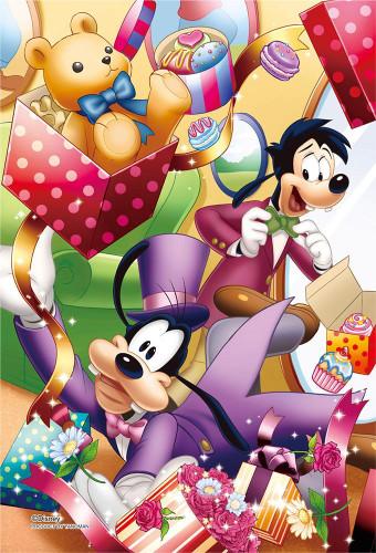 Yanoman Prism Art Jigsaw Petit Puzzle 97-166 Disney Goofy (70 Pieces)