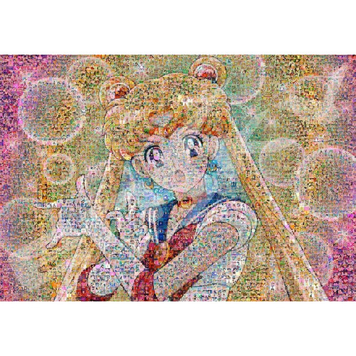 Ensky Jigsaw Puzzle 1000T-43 Mosaic Art Sailor Moon (1000 Pieces)