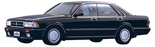 Aoshima 54833 The Model Car 62 Nissan Y31 Cedric/Gloria V20 Twin Cam Turbo Gran Turismo SV '87 1/24 scale kit