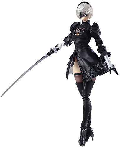 Square Enix Bring Arts NieR: Automata 2B & Machine Lifeform Set of 2 Figure