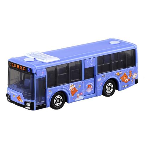 Takara Tomy Tomica 8 Mitsubishi Fuso Aero Star Tachikawa Bus x Rilakkuma 879817