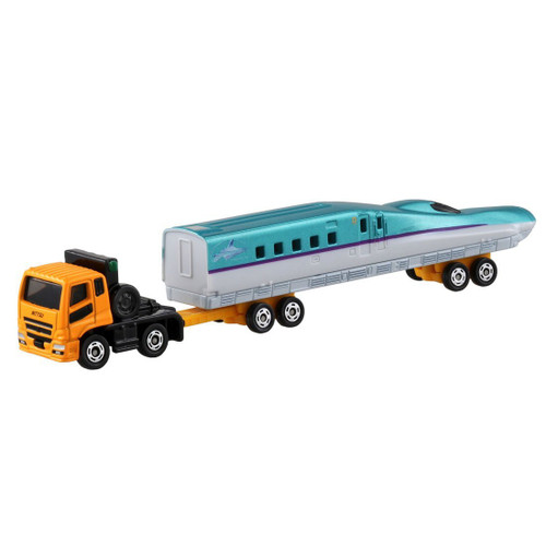 Takara Tomy Tomica 122 Mitsubishi Fuso Super Great H5 Type Shinkansen Transport Vehicle 880431