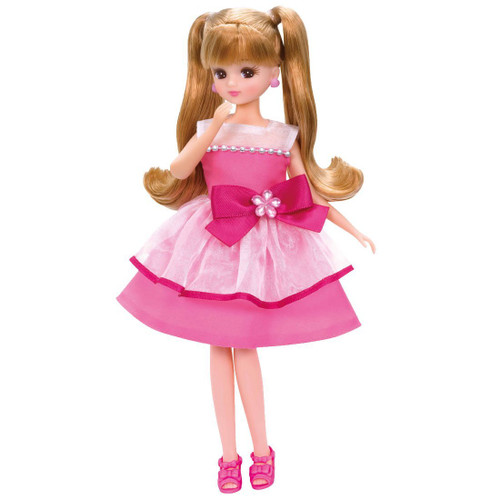 Takara Tomy Licca Dress LW-01 Juicy Pink (971597) <doll not included>
