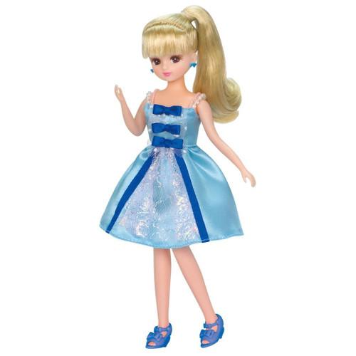 Takara Tomy Licca Dress LW-02 Sky Blue Ribbon (971610) <doll not included>