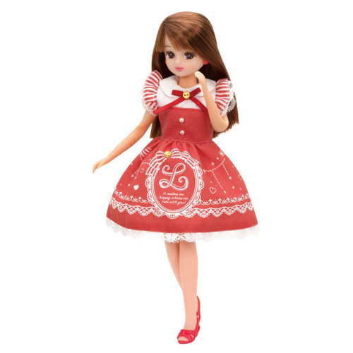 Takara Tomy Licca Dress LW-03 Lovely Heart Drop (971627) <doll not included>