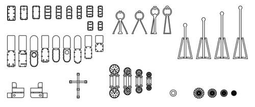 Hasegawa QG73 721739 IJN Vessels General-purpose Photo-etched Parts B (Watertight Door / Hatch) 1/700 scale kit