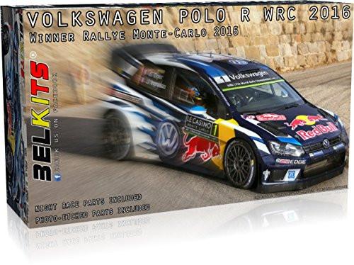 Aoshima (BELKitS) 03173 Volkswagen Polo R WRC 2016 1/24 Scale Kit