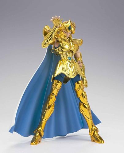 Bandai 225546 Saint Seiya Myth Cloth EX Leo Aiolia Revival Version Figure