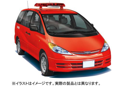 Fujimi ID-263 Toyota Estima Firefighting Publishing Car 1/24 scale kit