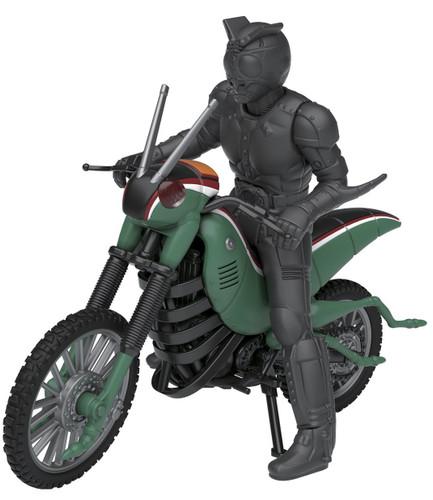 Bandai 210535 Kamen (Masked) Rider Battle Hopper & Shadow Moon non scale kit (Mecha Collection Kamen Rider No.4)
