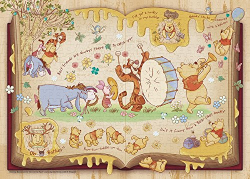 Epoch Jigsaw Puzzle Decoration 74-003 Disney Winnie the Pooh (500 Pieces)