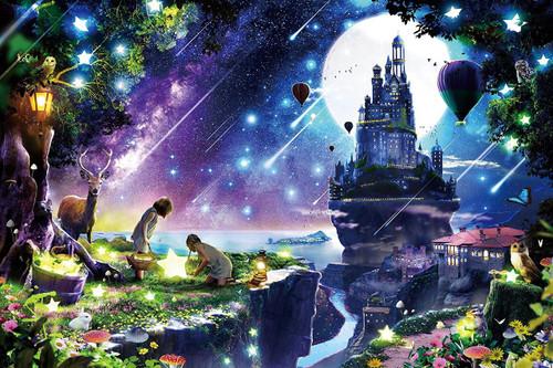 Epoch Jigsaw Puzzle 12-054 Satoshi Kusuda Night with Glittering Stars (1000 Pieces)