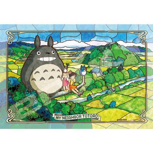 Ensky Frost Art Crystal Jigsaw Puzzle 300-AC036 My Neighbor Totoro (300 Pieces)