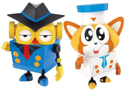 Bandai 240372 Pikachin Robot Spy Owl James & Patti of Gourmet Raccoon