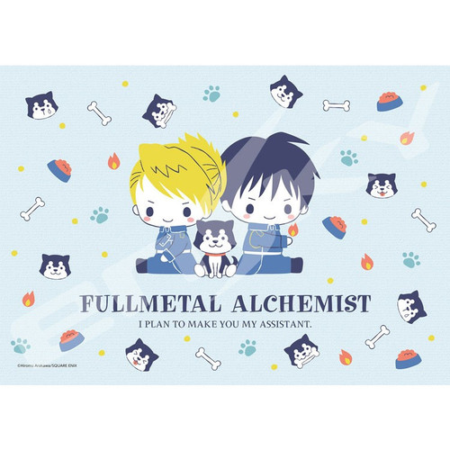 Ensky Jigsaw Puzzle 108-710 Sanrio x Fullmetal Alchemist Mustang & Hawkeye & Black Hayate (108 Pieces)