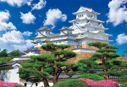 Beverly Jigsaw Puzzle M81-872 World Heritage Himeji Castle Japan (1000 S-Pieces)