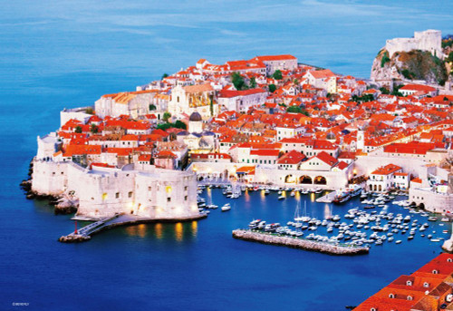 Beverly Jigsaw Puzzle M81-870 Pearl of the Adriatic Dubrovnik Croatia (1000 S-Pieces)